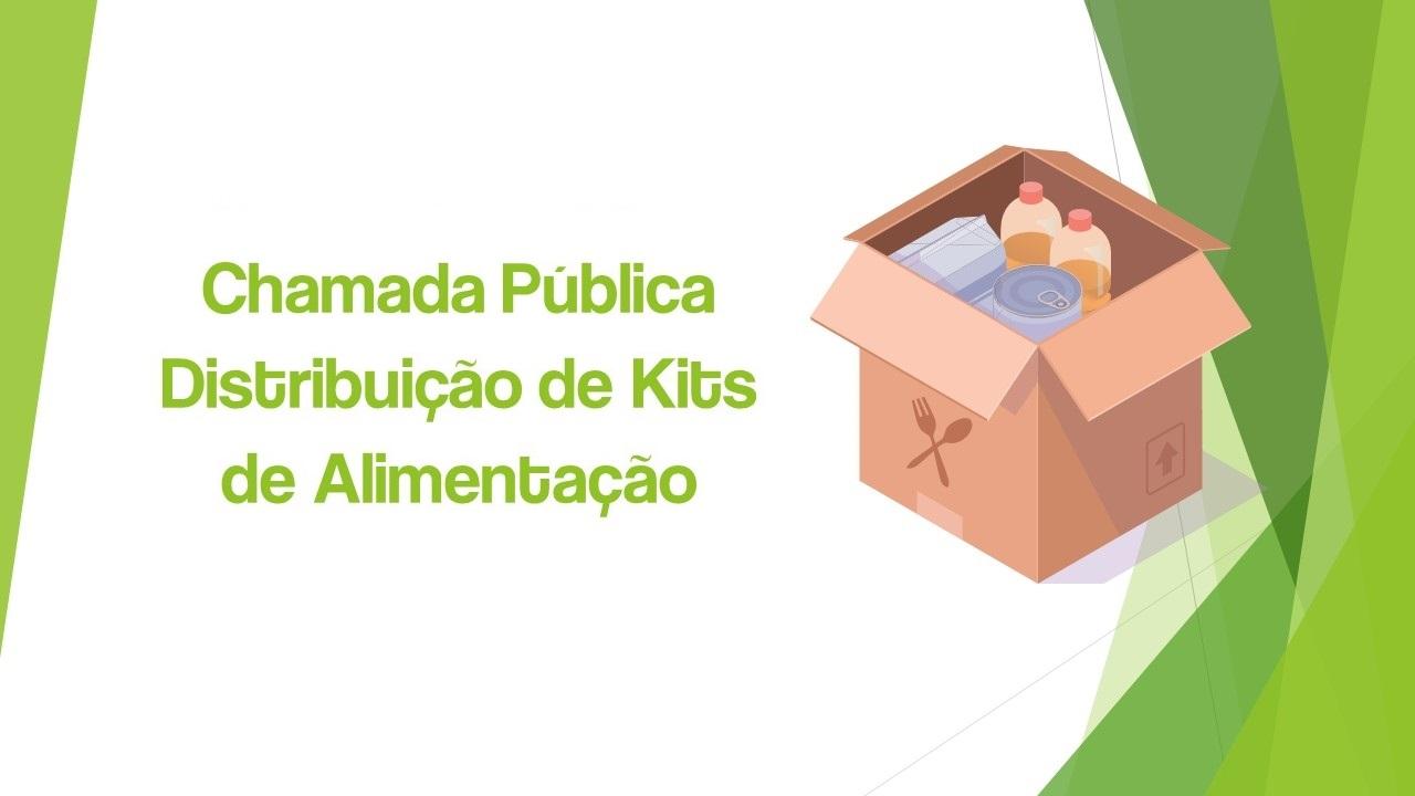 Chamada Pública Chamada Pública Edital Nº 196/2021 - KITS DE ALIMENTAÇÃO