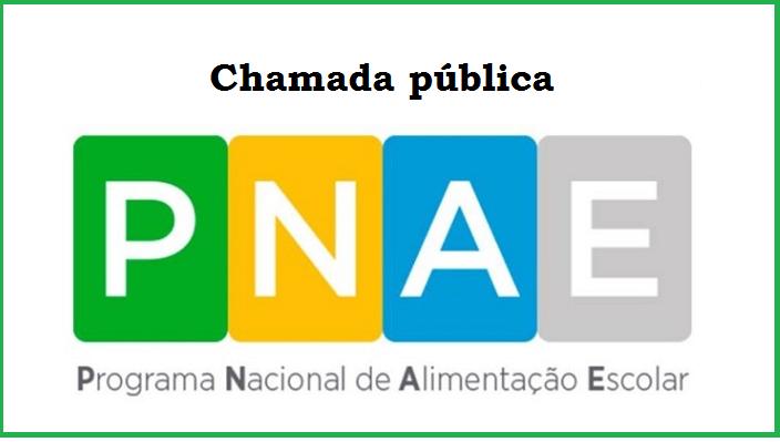 Chamada pública - PNAE